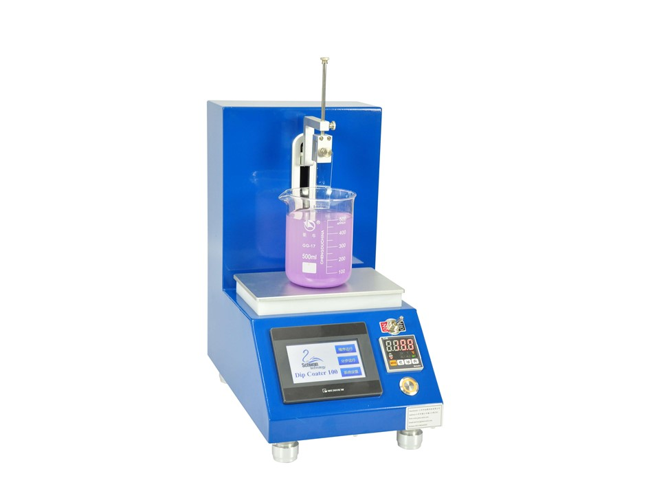 laboratory dip coating machine with heating plate DP100-H