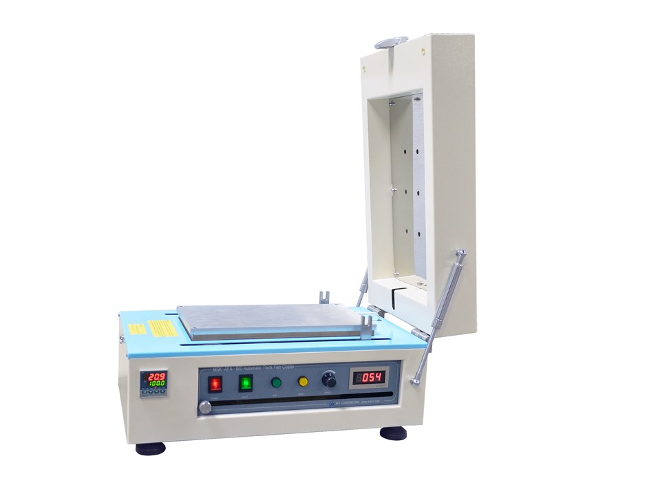 Compact Tape Casting Coater with Vacuum Chuck and Heating Cover-MSK-AFA-III