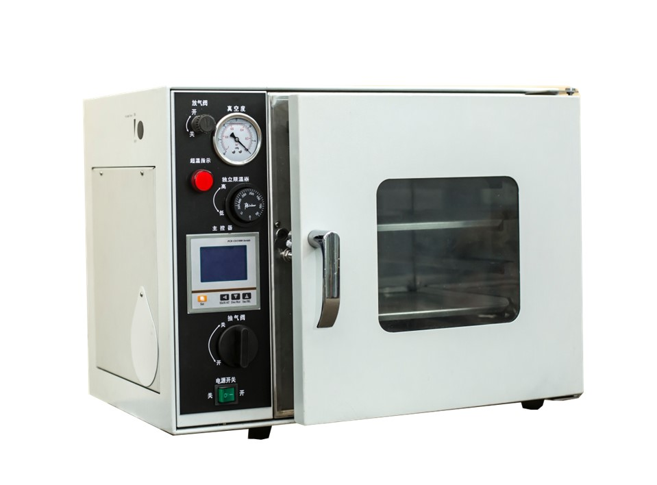 53L benchtop drying oven with vacuum pump