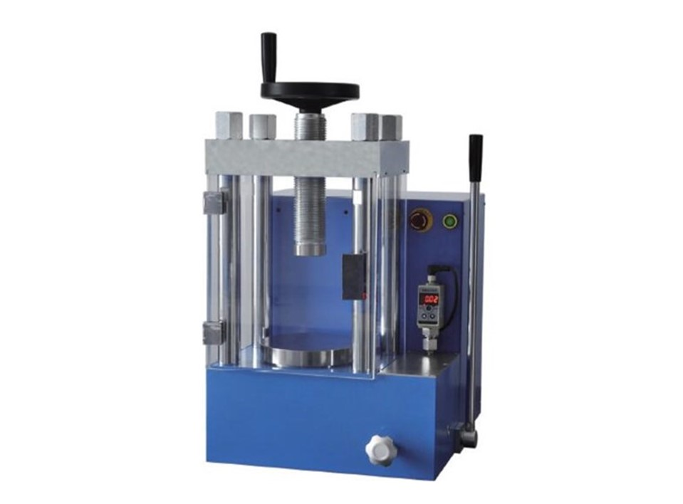 60 ton laboratory electric hydraulic press for battery researching