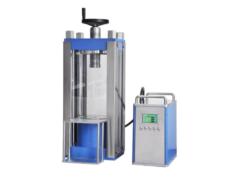 100 ton laboratory electric hydraulic press