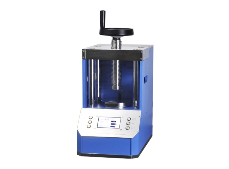 PP30S 30 ton laboratory auto hydraulic press with LCD touch panel
