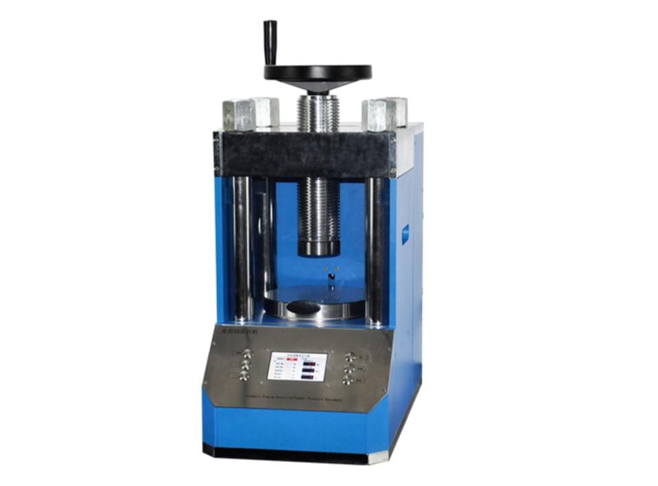 PP100S 100 ton laboratory auto control hydraulic press with LCD panel
