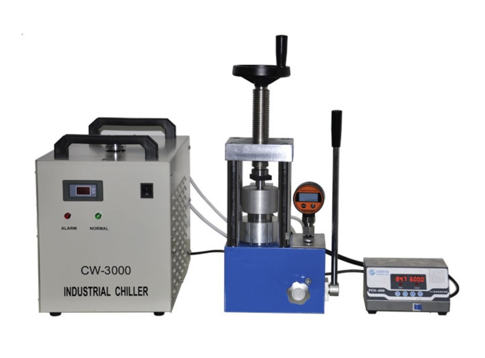 PCH-600A laboratory 24 ton heating press upto 300 degree