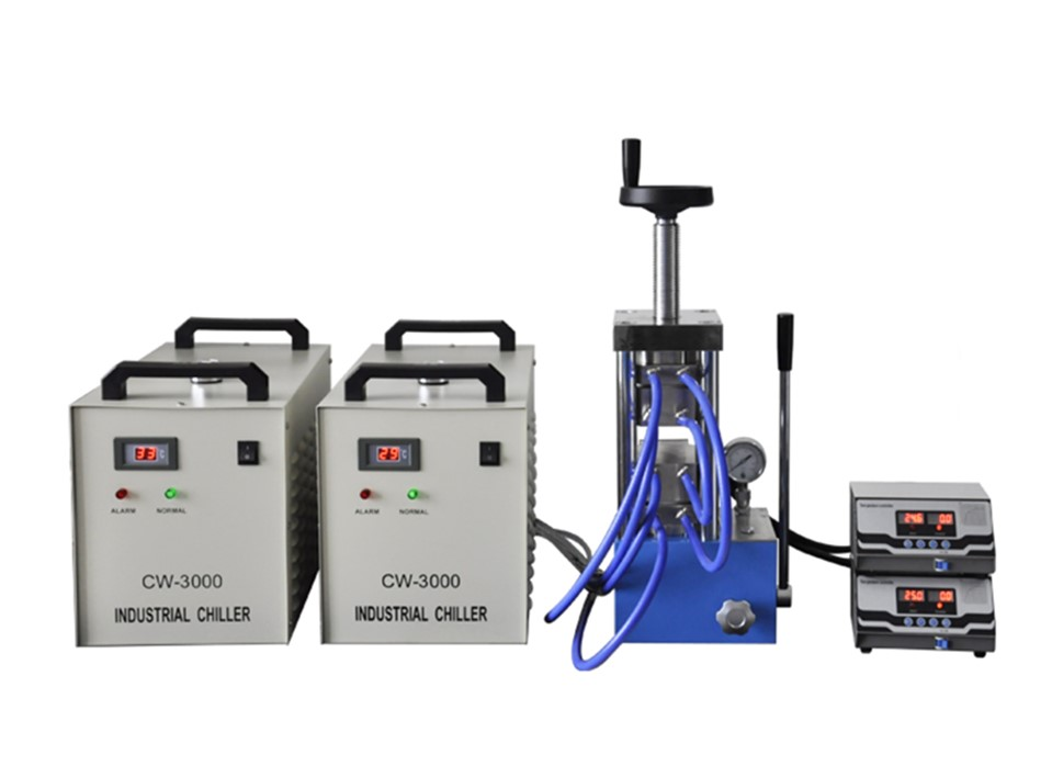 PCH-600CG 500 degree laboratory heating press