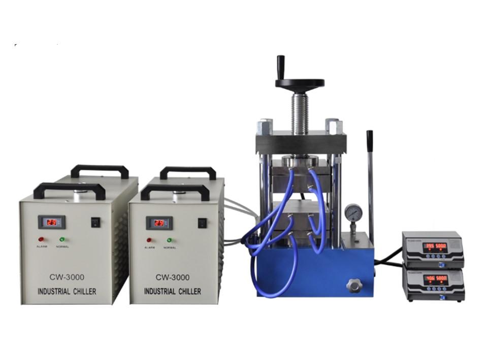 PCH-600DG 60 ton laboratory heating press upto 500 degree