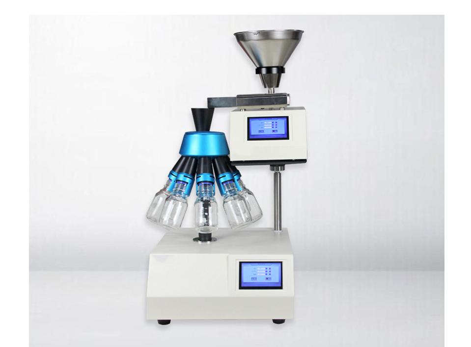 Laboratory Powder Rotating Divider CH-MTF200