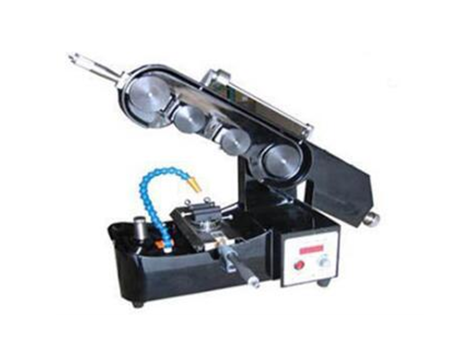 Endless Diamond Wire Saw with Digital Micrometer and Two Angle Adjustable Sample Stage - STX-201