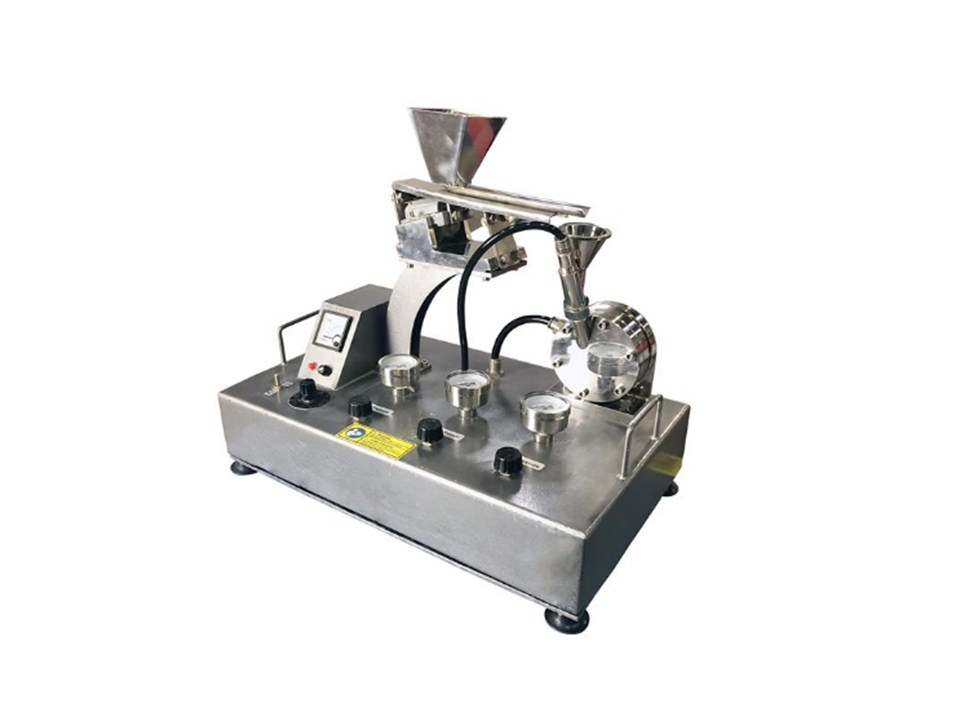 Compact Jet Mill with Speed 50 - 100 g/hr CH-AO100
