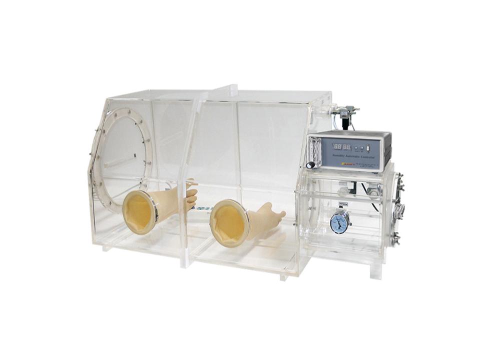 Laboratory Arcylic Glove Box with Humidity Control AGB-4C